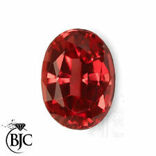 Oval Transparent Loose Natural Rubies