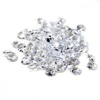 800pc Clear Diamond Table Confetti Wedding Bridal Shower Decor 4 Carat 10mm