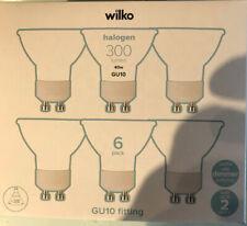6 x Wilko GU10 LED 300 Lumens 40w Spotlight Bulb