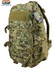 KOMBAT ELITE Pack - BTP/MTP Camouflage 45 litre Army Style DAYSACK CADETS ARMY