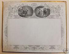 Calendrier (prototype) calendar illustration Molière 19ème siècle