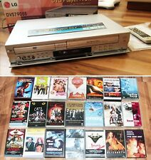 LG DVS7905S DVD-Player Videorecorder DVD Player + VCR SLIM FB + 21 Filme gratis