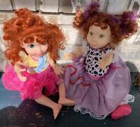 """Lot Of 2 Fancy Nancy Dolls 18"""""""
