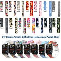 Bunte Zeichenuhr Watch band Weich Silicon Strap For Huami Amazfit GTS 20mm