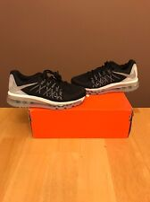 Womens Nike Air Max 2015 Black/Silver Size 11 Rare $180 Flyknit Boost (Mens 9.5)