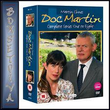 DOC MARTIN - COMPLETE SERIES  1 2 3 4 5 6 7 & 8 *BRAND NEW DVD BOXSET***