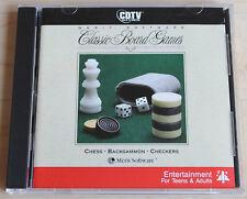 CDTV Classic Board Games (amiga, 1990, Jewel-Case)
