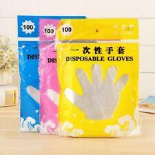 200 unids guantes desechables de plástico finos , tardan en llegar 8-18 dias