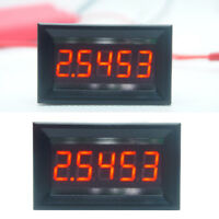 "DC 0-50.000mA(50mA) Digital Ammeter 5-digits bit Current Meter Panel Guage 0.36"""
