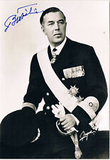 Sweden Prince Bertil of Sweden Duke of Halland  1912-97 autograph signed photo
