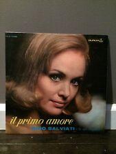 Rino Salviati – Il Primo Amore 1966 LP, Durium – ms A 77125