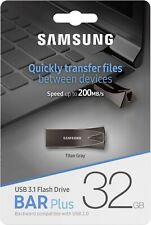 Samsung 32GB/64GB/128GB Speed up to 300MB/s  USB 3.1 Bar Plash Flash Drive   -UK