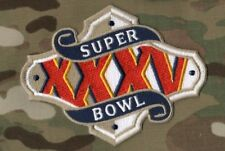 SUPER BOWL XXXV SUPERBOWL 35 RAVENS GIANTS JERSEY PATCH