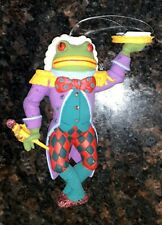 "Vintage Rare Dept. 56 Alice In Wonderland 6"" Ornament - Frog Footman"