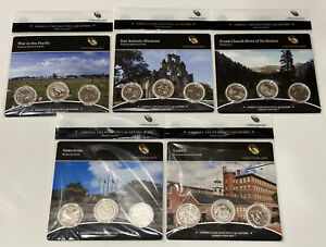 2019 ATB Quarters 3-coin set - America the Beautiful - Complete All 5 Sets