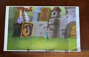 Golden Films OG Jiminy Cricket Hand Painted Original Production Animation Cel