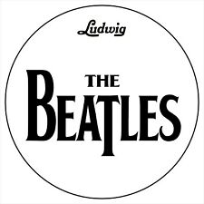 More details for the beatles 'drop t' bass drum logo / graphic / decal