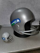 1976 seattle seahawks pro sports marketing mini football helmet COIN BANK