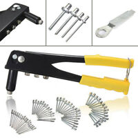 Remachadora de mano Remache Pop Gun Kit Single Core tirando Heavy Duty Tool