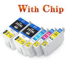 5x Ink Cartridges 252XL 252 for Epson WF-3620 WF 3640 Workforce WF-7610 non-oem