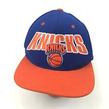 3fa740e113e Mitchell   Ness Strapback Hat NEW YORK KNICKS Wool Baseball Cap NBA  Basketball