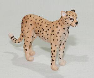 Cheetah Replica Wild Zoo Animal Figure Model Toy Small