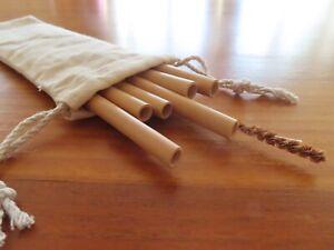 Reusable, biodegradable, eco friendly Bamboo Straws