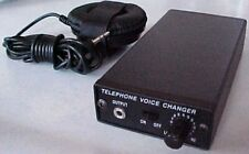 PROFESSIONAL TELEPHONE VOICE CHANGER, LOWEST COST ANYWHERE ON THE INTERNET!