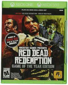 Red Dead Redemption Game of the Year Edition Xbox 360 Xbox One Brand New