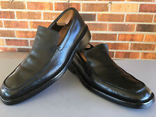 Gucci Black Leather Loafers Slip-On Shoes Mens Sz 9D US                   E10(5)