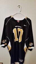 Missouri Tigers Black Nike #10 Replica Football Jersey - XL