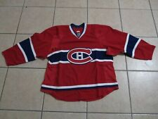AUTHENTIC REEBOK EDGE 2.0 MONTREAL CANADIENS HOME HOCKEY JERSEY 58+ NWT