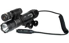 Weapon Light & Laser Combo Tactical Flashlight Adjustable Mount 150 Lumen ELP38