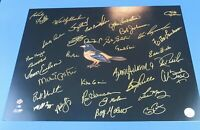 BALTIMORE ORIOLES MULTI-SIGNED 16x20 PHOTO - 35 AUTOGRAPHS - PRICED TO SELL !!