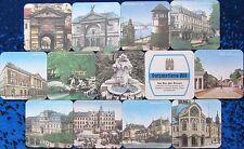 Bierdeckel Serie Sammlung - Gatzweiler Düsseldorf - 12 verschiedene Stadtmotive