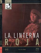 "ZHANG YIMOU ""LA LINTERNA ROJA"" LIMITED EDITION DVD FILMOTECA FNAC / GONG LI"