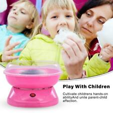 More details for new electric cotton candy machine pink floss carnival commercial maker party