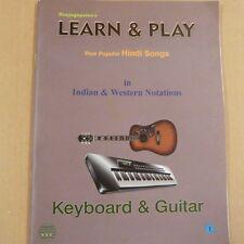 Gli organi raajagopalen'S imparare & Play hindi CANZONI IN Indiano Western notazioni