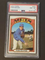 1972 Topps Tom Seaver #445 PSA 8 Gorgeous New York Mets