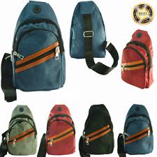For Unisex Cross Shoulder Mini Backpack Fashion Fanny Pack Waist Bag Pouch LOT