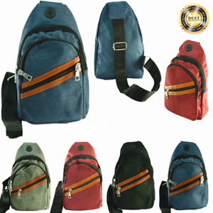 For Unisex Cross Shoulder Mini Backpack Fashion Fanny Pack Waist Bag Pouch LOT