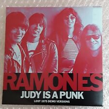 "Ramones ‎– Judy Is A Punk (Lost 1975 Demo Versions) RSD 2016 Pink vinyl 7"" Lmt"