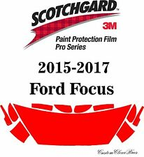 3M Scotchgard Paint Protection Film Pro Series Clear 2015 2016 2017 Ford Focus
