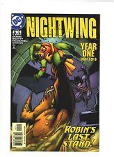 Nightwing #101 NM- 9.2 DC Comics 2005 Year One pt.1 Robin, Batman app.