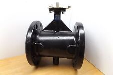 """NIBCO FC27653 5 5"""" BUTTERFLY VALVE CAST IRON POLYAMIDE COATING 200 PSI"""