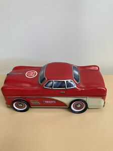 Collectable Arnott's Biscuit Tin Red Car