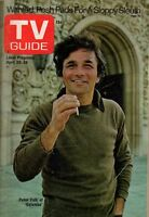1974 TV Guide April 20 - Peter Falk - Columbo; Richard Roundtree; Andy Griffith