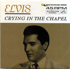 "ELVIS PRESLEY  ""CRYING IN THE CHAPEL""       RED VINYL    LISTEN"