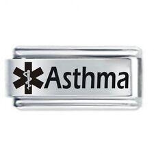 DAISY CHARM Italian Charm  MEDICAL ALERT - ASTHMA