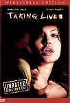 Taking Lives (DVD, 2004, Unrated Director's Cut) Widescreen